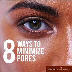 What are the best ways to get rid of large pores?
