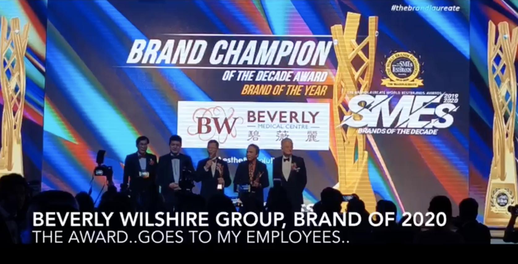 The Brandlaureate SMEs Awards (2019 -2020)