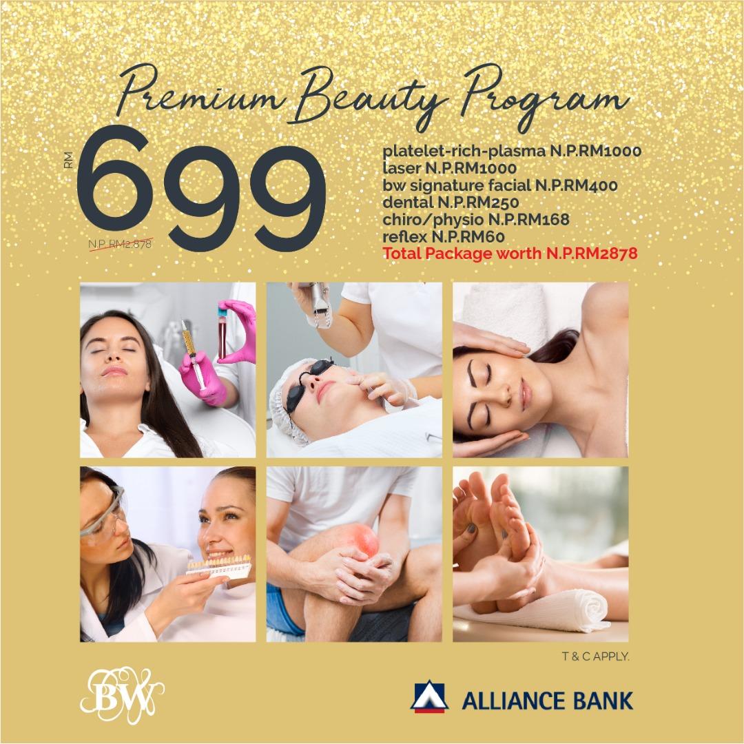 Alliance x BW Premium Beauty Program