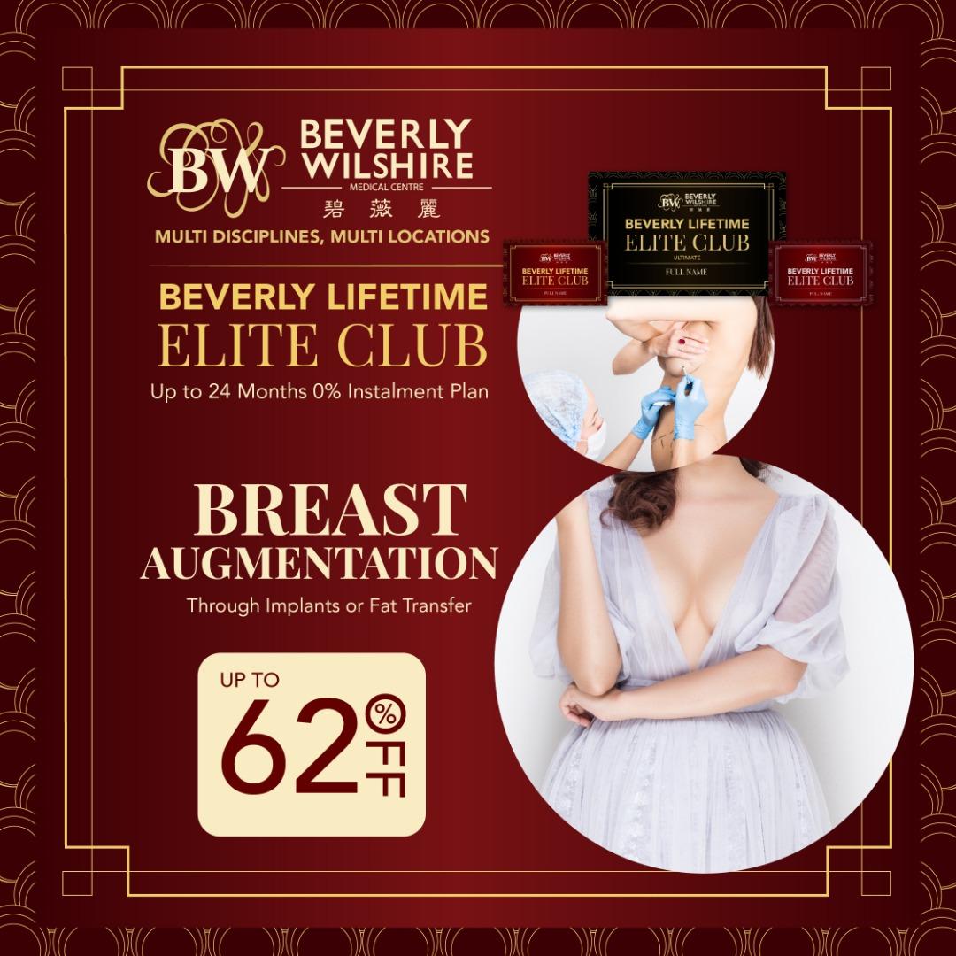 BREAST AUGMENTATION THROUGH IMPLANTS OR FAT TRANSFER